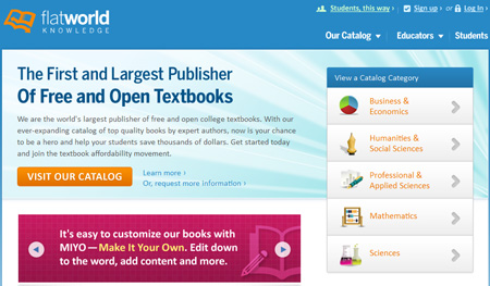 10 Websites Offering Free College Textbooks Online
